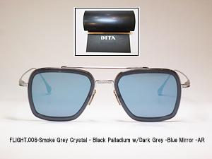 メガネのアベ DITA FLIGHT.006 Smoke Grey Crystal Black